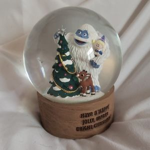 Rudolph and Bumble Snowglobe